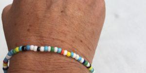 DINGE-MIT-HERZ Armband Mini bunt