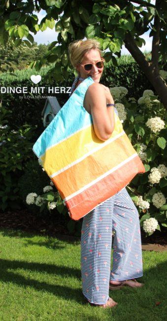 Für Tanja… Strandtasche MAXIMAL