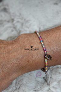 DINGE MIT HERZ Armband MINI pastell alle Farben