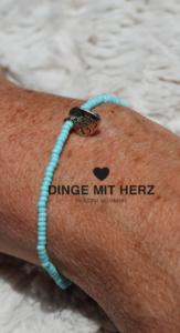 DINGE MIT HERZ Armband MICRO mint matt