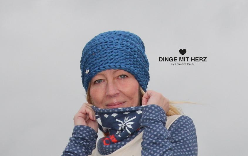 Dinge mit Herz Häkelmütze Mütze Ulla