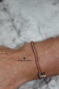 DINGE MIT HERZ Armband MINI bronze kupfer