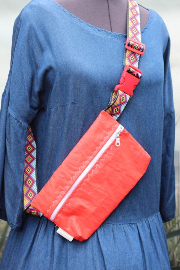 Dinge mit Herz Marsupio crossover Segel Tasche