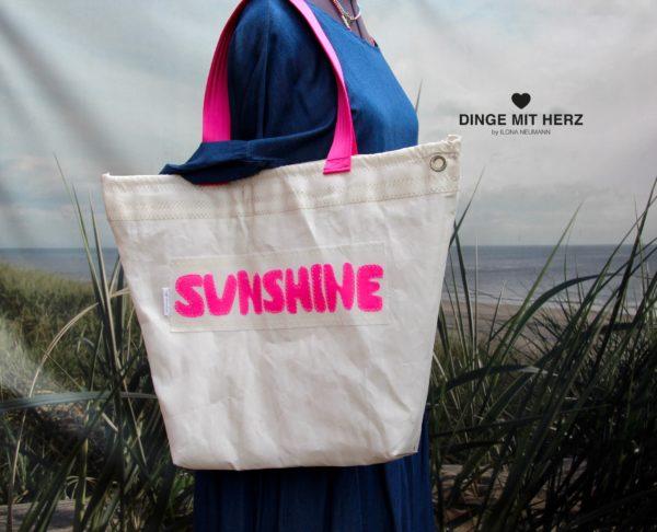 Dinge mit Herz Tasche Sunshine