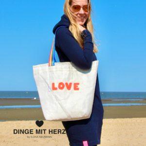 Love Segel Tasche