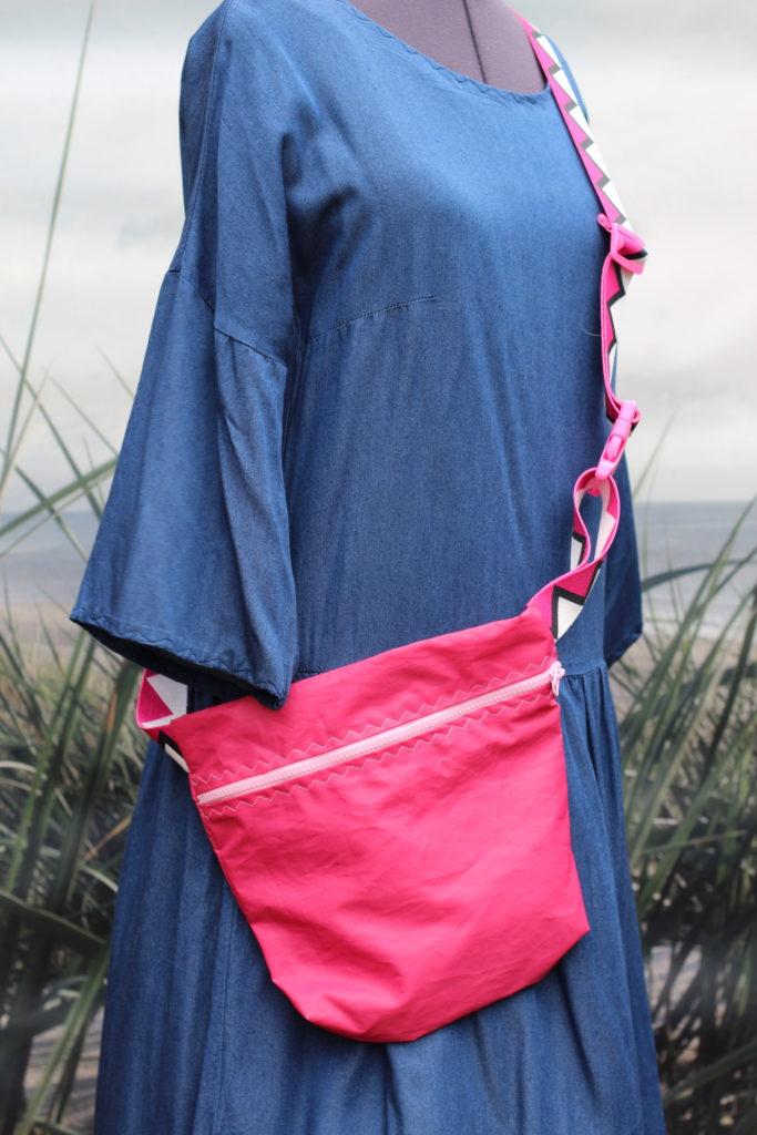 Dinge mit Herz Marsupio grande pink Segel